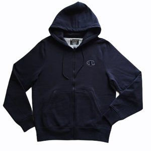 Champion Super Fleece C Full Zip Hoodie Men's NEW
